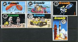 Grenada 1971 Apollo Moon Exploration Series Set MNH (SG 455-460) - Grenada (...-1974)