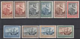 SAN MARINO - Michel - 1942 - Nr 241/50 (ZEER MOOI) - MH* - Saint-Marin