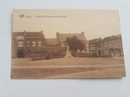 A 1432 - Blégny Place Sainte Gertrude Et Monument - Blégny