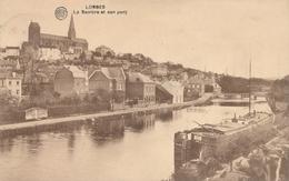 CPA - Belgique - Lobbes - La Sambre Et Son Pont - Lobbes