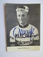 Cycliste Graczick Jean - Cyclisme