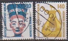 Berlin 1989 Mi-Nr.831 - 832 O Gest. Sehenswürdigkeiten (B 2063) Günstige Versandkosten - Oblitérés