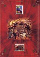 ITALIA  Folder   Natale  2000 . Vedere 2 Foto - Italia