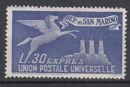 SAN MARINO - Michel - 1946 - Nr 355 - MH* - Timbres Express