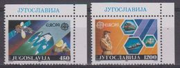 Europa Cept 1988 Yugoslavia 2v (corner) ** Mnh (42634I) - 1988