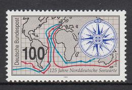 Germany MNH Michel Nr 1647 From 1993  / Catw 1.40 EUR - Ongebruikt