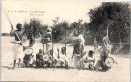 AFRIQUE --  SOMALIE - Guerriers Somali - Somalia