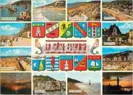 CPM La Cote Fleurie Dives Sur Mer Houlgate Villers Sur Mer Blonville Cabourg Deauville - France