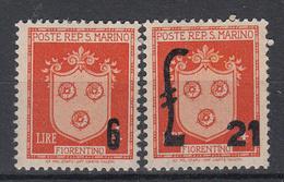 SAN MARINO - Michel - 1947 - Nr 376/77 - MNH** - Saint-Marin