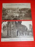 GOZEE  -  Lot De  2 Cartes : ABBAYE D'AULNE  - Ruines  - - Thuin