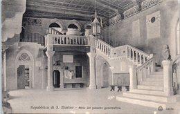 SAINT MARIN --  Atrio Del Palazza Governativa - Saint-Marin