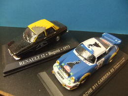 PORSCHE 911 CARRERA RS - TAXI RENAULT 12 Coches Accidentados - Carros