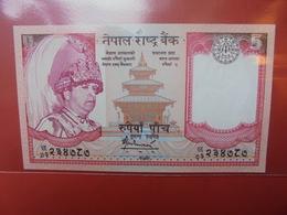 NEPAL 5 RUPEES 2005 PEU CIRCULER/NEUF - Nepal