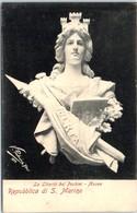 SAINT MARIN -- La Liberta Del  Pochini - Musea - Saint-Marin
