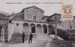CPA  Repubblica Di S. Marino - Convento Dei Cappuccini - Già Quartieri Generali Di Garibaldi - Saint-Marin