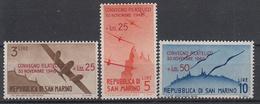 SAN MARINO - Michel - 1946 - Nr 352/54 (ZEER MOOI) - MH* - Poste Aérienne