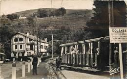 LA RHUNE - Frontière Franco-Espagnole,chemin De Fer. - Douane