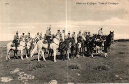 CPA MILITARIA - CHASSEURS D'AFRIQUE TENUE DE CAMPAGNE - Regiments