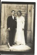 Carte Photo Ancienne Mariage - Marriages