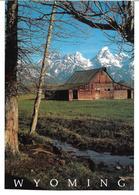 3070w: AK Wyoming, Grand Teton National Park, Ungelaufen Um 1980 - Vereinigte Staaten