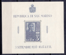 SAN MARINO - Michel - 1938 - BL 2 - MNH** - Blocs-feuillets