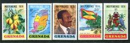 Grenada 1974 Independence Set MNH (SG 613-617) - Grenada (1974-...)