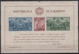 SAN MARINO - Michel - 1945 - BL 4B - MNH** - Blocs-feuillets