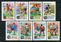 Grenada 1974 Football World Cup, West Germany Set MNH (SG 619-626) - Grenada (1974-...)