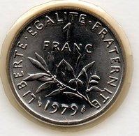 Semeuse  -  1 Franc 1979   -  état   FDC - Scellée - Frankrijk