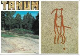 3070v: 2AKs Felsritzungen In Schweden, 1.000 Vor Christus, Kirchspiel Tanum, Ungelaufen Um 1980 - Antike