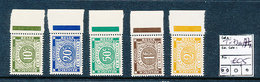BELGIAN CONGO COB TX73A/77A MNH - Postage Due: Mint/hinged Stamps
