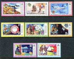 Grenada 1974 Centenary Of UPU Set MNH (SG 628-635) - Grenada (1974-...)