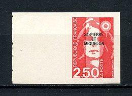 SPM MIQUELON 1992  N° 557 ** Neuf MNH Superbe C 1.50 € Marianne Du Bicentenaire Auto Adhésif - St.Pedro Y Miquelon