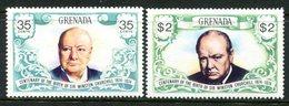 Grenada 1974 Birth Centenary Of Sir Winston Churchill Set MNH (SG 637-638) - Grenada (1974-...)