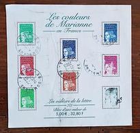 FRANCE 2002 - Joyeux Anniversaire! Marsupilami - BF 42 Oblitéré. 2 Eme Choix (Luquet En F - Valeurs De La Lettre) - Sheetlets