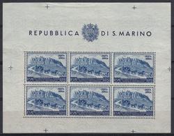 SAN MARINO - Michel - 1950 - Nr 439 C (Velletje) - MNH** - Blocs-feuillets
