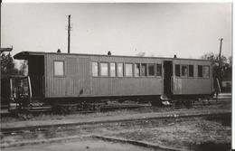 Photo - Train - Chemin De Fer Somme - Voiture - Wagon à Identifier - Trains