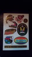 Autocollants Yamaha Planche De 8 Autocollants - Stickers