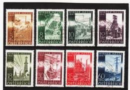 LKA756 ÖSTERREICH 1947 Michl 803/10 Used / Gestempelt SIEHE ABBILDUNG - 1945-.... 2ème République