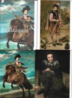 3070t: AK- Kollektion (5 Karten) Velazquez- Kunstausstellung Wien 2015, Mit Ausstellungsführer - Pintura & Cuadros