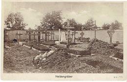 HELDENGRÄBER - (VLAANDEREN) - Uitg. Dr. TRENKLER & Co - Niet Gelopen - 1914-18