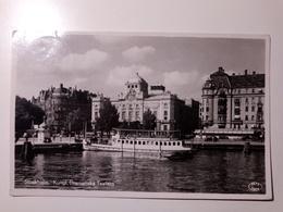 Sverige - Stockholm - Kungl. Dramatiska Teatern - 1952 - Boat, Ship (UNESCO, Paris) - Svezia