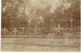 HELDENGRÄBER - (VLAANDEREN ?) - Fotokaart - Verstuurd ; Zie Scans - 1914-18