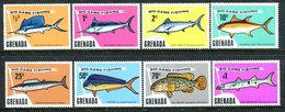 Grenada 1975 Big Game Fishing Set MNH (SG 669-676) - Grenada (1974-...)