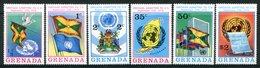 Grenada 1975 Admission To The UN Set MNH (SG 687-692) - Grenada (1974-...)