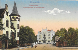 Diedenhofen (Thionville) Maximilianstraße Mit Husarenkasino (Casino Des Hussards) Verlag Anna Schaerr - Carte Colorisée - Thionville