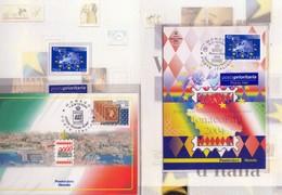 ITALIA  Folder  Valori D' Italia Del 3 - 5 -  2004 . Vedere 1 Foto - Italia