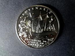 Kuba  Cuba 1 Peso 1994, 500 Jahre Centenario, Unc. Coin, Moneda 500 Años Precencia De Africa En Cuba, Selten, Raro, Rare - Cuba