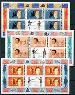 Grenada 1975 Bicentenary Of American Revolution - 1st Issue Sheetlet Set MNH (SG 694-703) - Grenada (1974-...)