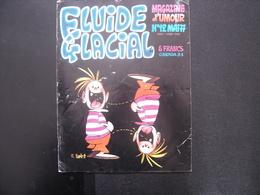 1977 Bande Dessinée FLUIDE GLACIAL N° 12 Dessins Humour - Fluide Glacial